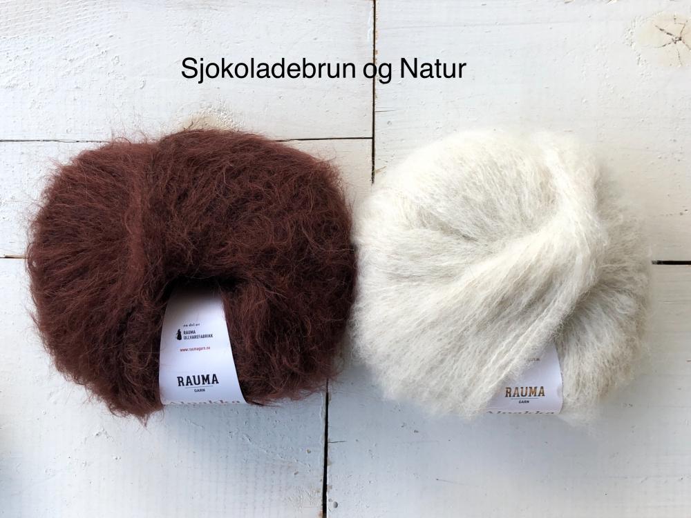 MorfarMønster genser Alpakka Lin ARNHILD SKATVEDT AS
