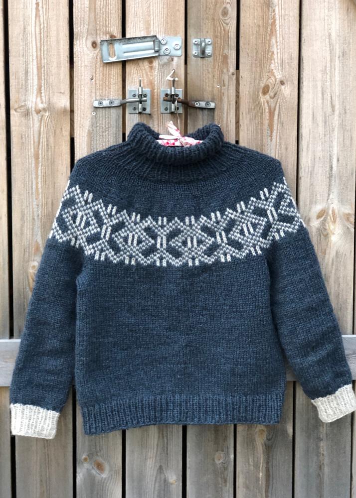 Hvilken genser skal jeg strikke til meg selv da